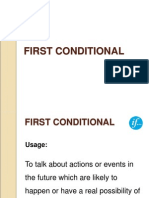 FIRST CONDITIONAL.ppt