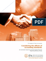 CL31 - Considering the Effects of Accounting Standards - IPA