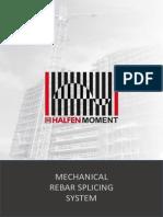 Halfen Coupler Mechanical Rebar Splicing