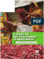 A Study on Dry Chili Market in Bangladesh