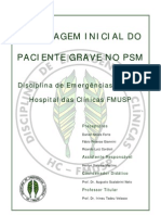 Abordagem Inicial do Paciente Grave no PSM