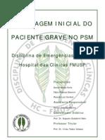 Abordagem Inicial do Paciente Grave no PSM