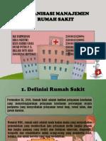 Organisasi Manajemen Rumah Sakit