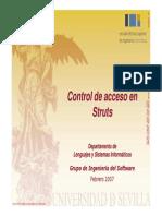 Control de Acceso en Struts
