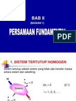 Bab 2 Persamaan Fundamental 1