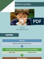 Rhinitis Alergi
