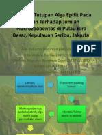 Pengaruh Tutupan Alga Epifit.pptx