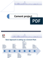 Cement project history