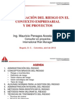 Admin_integral Del Riesgo_empresarial y Proyectos