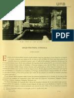 Arquitectura Etrusca. Universidad Autónoma Barcelona