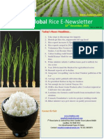 22nd December,2014 Daily Global Rice E-Newsletter by Riceplus Magazine