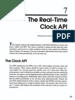 7. the Real-Time Clock API