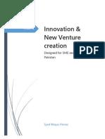 Innovation & New Venture Creation (First Cut)