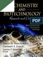 Biochemistry & Biotechnology