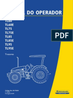 Manual Do Operador Tratores New Holland - Modelo TL 60, TL 75, TL 85 e TL 90
