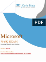 Up To Date 70-532 PDF Exam Demo