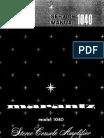 Marantz 1040 Sm 2