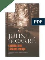 John Le Carré - Chemare Din Tarâmul Mortii