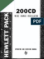 HP- 200CD