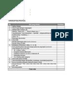 Checklist BLS