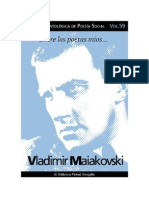 Cuaderno de Poesia Critica 59 Vladimir Maiakovski