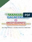 Galactic Handbook and Synchronized Meditations Spanish