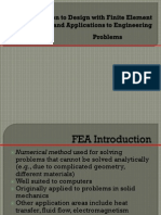 Intro to Fea and Applications