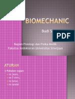 Biomechanic @Dokter Budi