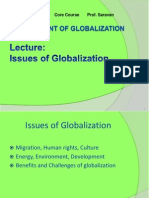 3 Issues Globalization