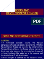 Bond and Development Length
