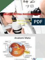 Ablasio Retina Rhegmatogen