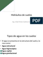 SUELOS hidraulica