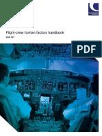 CAP 737 Flightcrew Human Factors Handbook