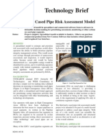 Cased Pipe Risk Model