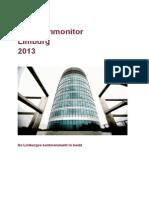 Provincie Limburg Kantorenmonitor 2013