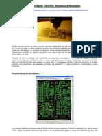 Circuitos Impresos Artesanales