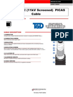 11kv PICAS Cable (Screened) to EATS 09 12