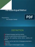 Audo Lingual Method