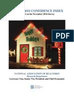 2014 11 Realtors Confidence Index 2014-12-22