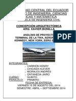 Análisis de Proyecto-terminal Twa-eero Saarinen