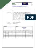 U00 E K KBD 001_A Tuberías_bases de Diseño Tuberias