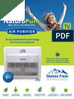 Heaven Fresh HF 300C Series Air Purifie