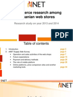 Studiu Ecommerce 2013-2014