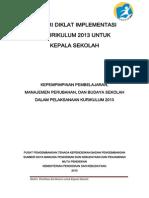 Materi Diklat Budaya Sekolah Manajemen Perubahan Kepemimpinan Dalam Implementasi Kurikulum 2013 1