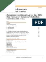 Bankinter Previsiones 2015_2016