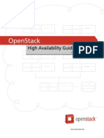 Openstack High Availability Guide