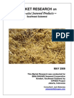 Market Research on Value-Added Seaweed Products
