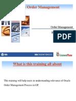 Order Management of GP_Part 1