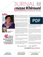 Chaynesse Khirouni - Le Journal - n°1