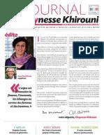 Chaynesse Khirouni - Le Journal - n°1